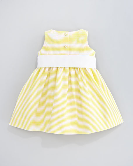 Sleeveless Pincord Dress, 12-24 Months