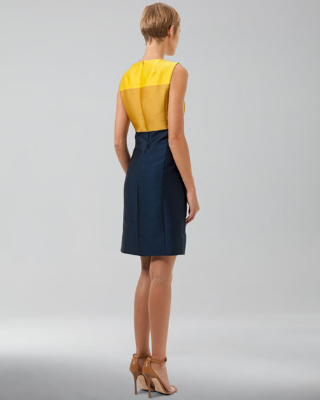 Duchesse Colorblock Dress