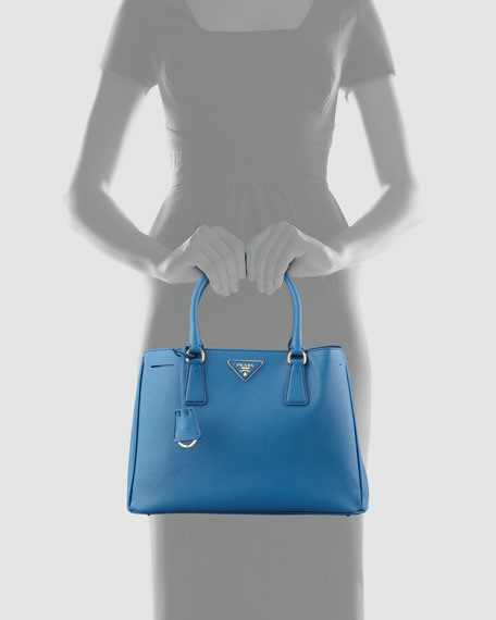 Saffiano Lady Tote Bag, Blue