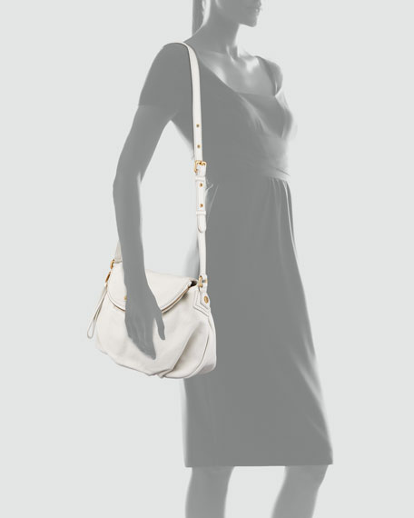 Classic Q Natasha Crossbody Bag, Cream