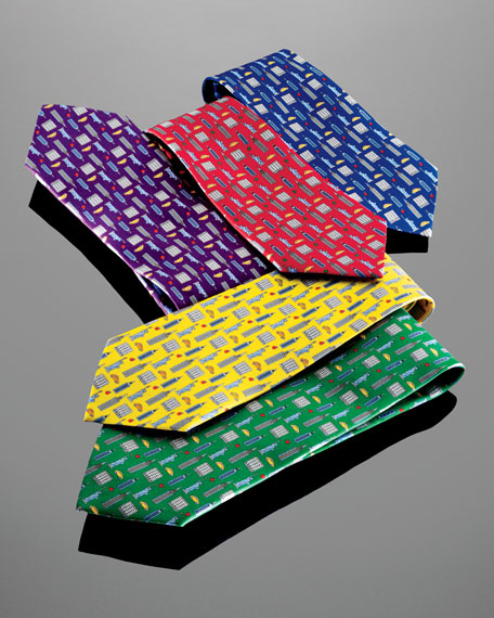 BG 111th Anniversary Icon Tie, Green