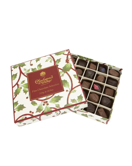 """""""Holly & Berry"""" Chocolate Assortment"""