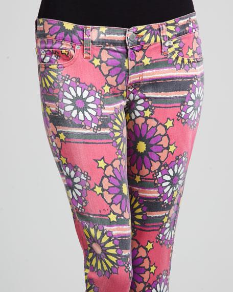 Deb Printed Skinny Jeans, Kaleidoscope