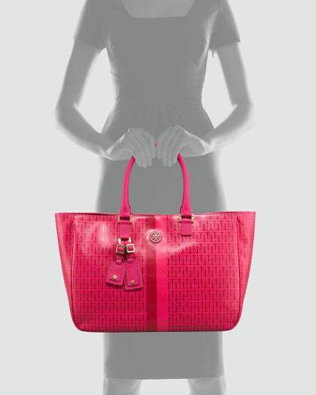 Roslyn T-Logo Tote Bag