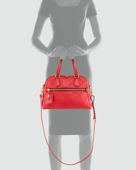 Globetrotter Mini Rei Satchel Bag, Lobster