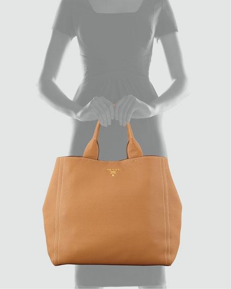 Daino New Large Tote Bag, Naturale
