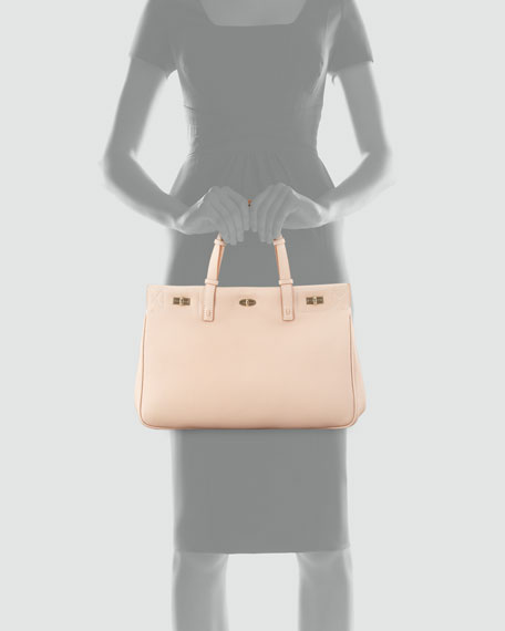 Vault Vitello Leather Satchel