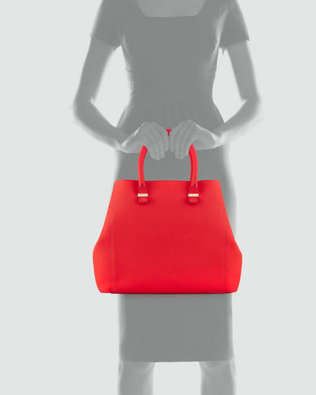 Georgia Leather Tote Bag