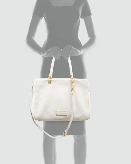 Too Hot To Handle Tote Bag, White