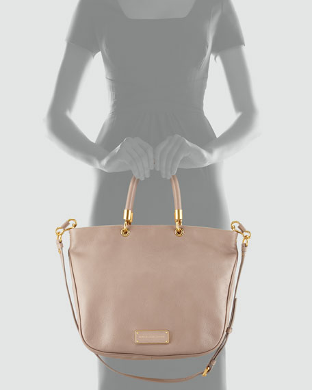 Too Hot to Handle Mini Tote Bag, Tan