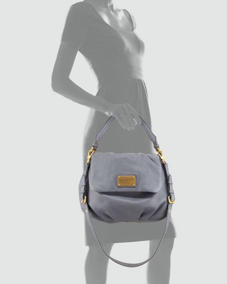 Classic Q Lil Ukita Satchel Bag, Gray
