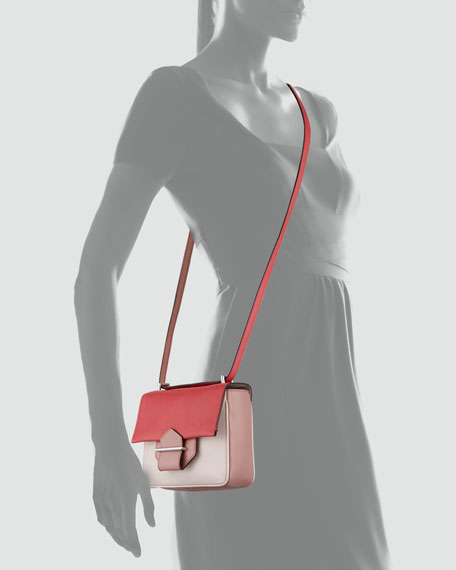 Standard Colorblock Mini Shoulder Bag, Red