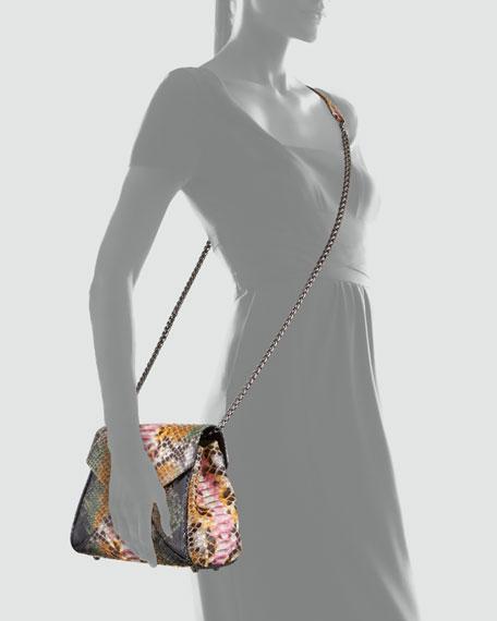 Itty Bitty Trinity Python Lady Bag, Multi