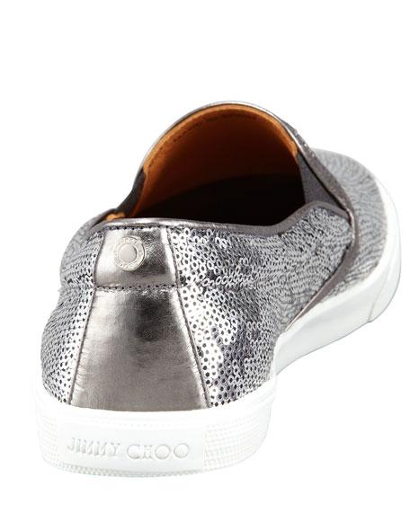 Demi Sequined Slip-On Sneaker