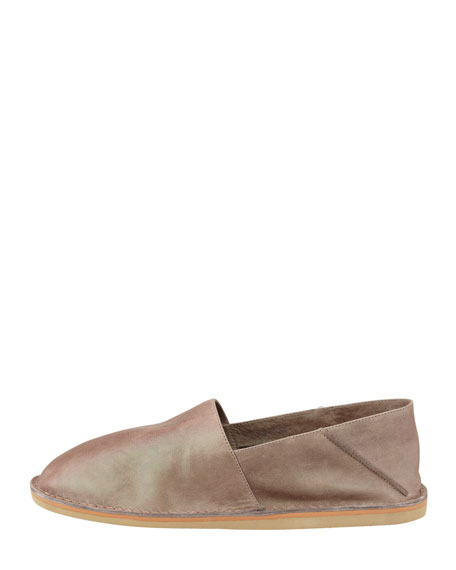 Kia Foldable Ballerina Slip-On,  Taupe