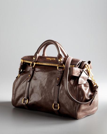Vitello Lux Bow Bag