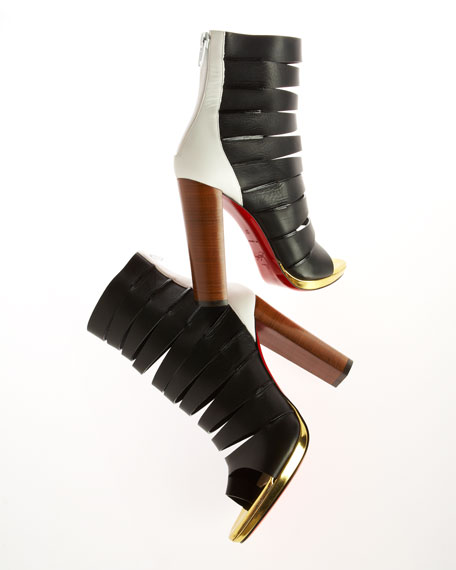 Decoupata Strappy Red Sole Boot