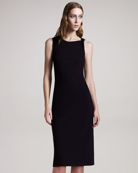 THE ROW Twist-Shoulder Jersey Dress