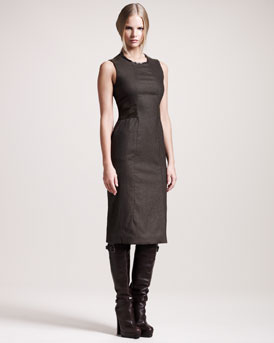 Belstaff Camborne Stretch-Flannel Dress