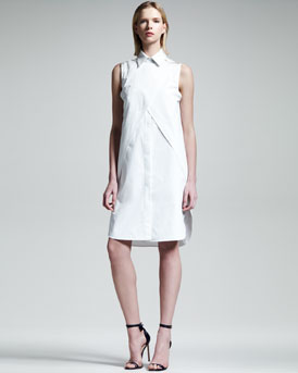 Alexander Wang Double-Layer Shirtdress