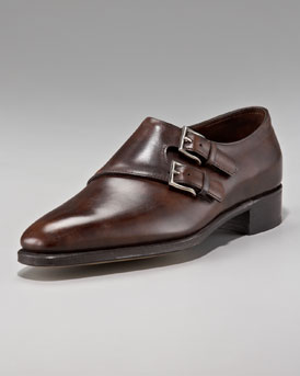 John Lobb Chapel Double Monk-Strap Shoe