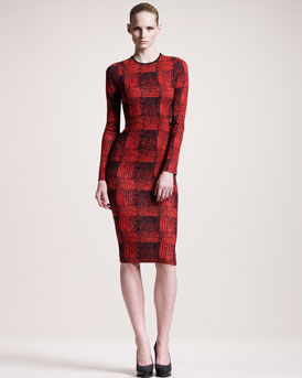 10 Crosby Derek Lam Printed Dress, 212 872 2887