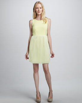 Sachin + Babi Maratea Pleat-Skirt Dress