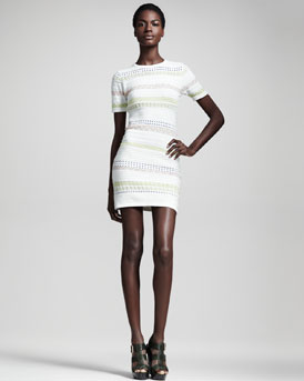Opening Ceremony Hollis Striped Dress