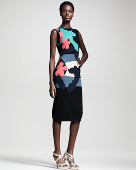 Opening Ceremony Tropical Intarsia Dress