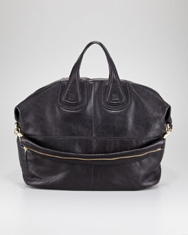 Givenchy Nightingale Zanzi Leather Bag, Large