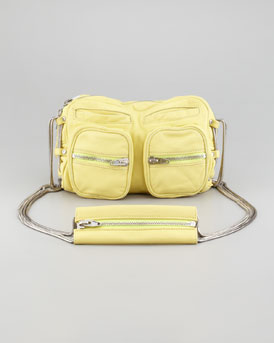 Alexander Wang Brenda Chain Shoulder Bag, Citrus