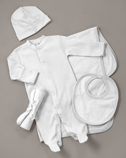 Kissy Kissy Layette Accessories, White