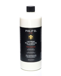 Philip B Light-Weight Deep  Conditioning Creme Rinse—Paraben Free Formula