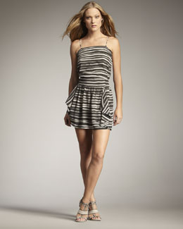 Kelly Wearstler Imari Striped Silk Camisole & Lipari Skirt