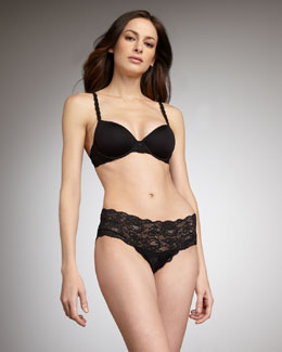 Cosabella Never Say Never Comfy Contour Bra & Low-Rise Hotpants