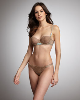 La Perla Via Rose Demi Bra & Thong