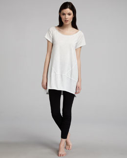 Donna Karan Pima Jersey Tunic & Leggings