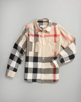 Burberry Giant-Exploded Check Shirt
