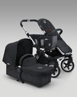 Bugaboo Donkey Tailored Fabric Set, Black