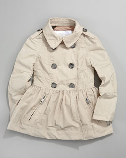 Burberry Skirted Trench