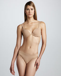La Perla Dolce Vita Push-Up Bra & Thong, Nude