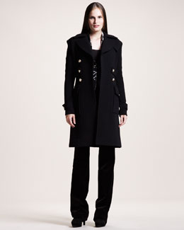 Altuzarra Graham Long Coat, Tom Short Jacket & Redwood Velvet Pants