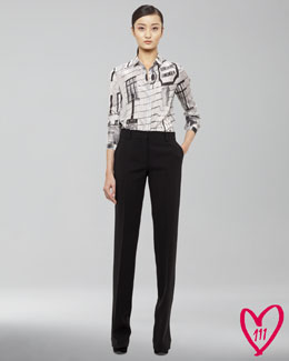 Akris BG 111th Anniversary Blouse & Marilyn Pants