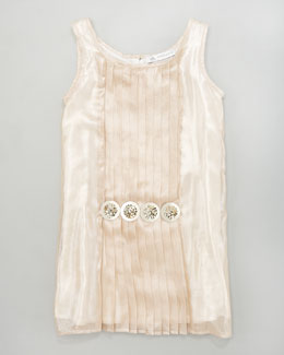 Charabia Shimmer Shift Dress