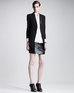 Kelly Wearstler Metropolis Tuxedo Jacket, Vita Blouse & Caviar Skirt