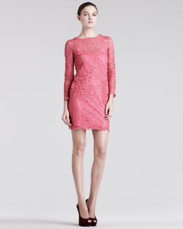 Pierre Balmain Lace Minidress & Satin Slip