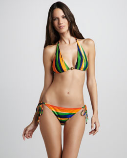 Milly Tortuga Striped Bikini