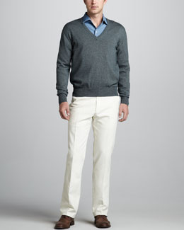 Loro Piana Scollo V-Neck Sweater
