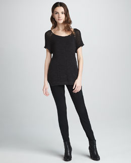 MARC by Marc Jacobs YoYo Knit Sweater & Bryant Leggings