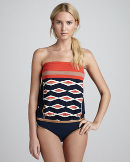 MARC by Marc Jacobs Hayley Striped Bandini Swimsuit
